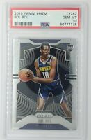 2019-20 Panini Prizm Bol Bol Rookie RC #282, Denver Nuggets, Graded PSA 10