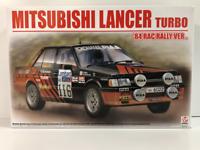 Mitsubishi Lancer Turbo 1984 RAC 1:24 Scale Model Kit Beemax 24022