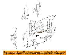 TOYOTA OEM 99-03 Solara Door-Lock Cable 6971006020