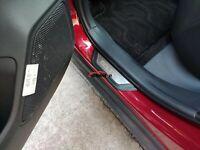 For Kia Seltos Car Accessories Auto Door Sill Protector Scuff Plate Guard 2021