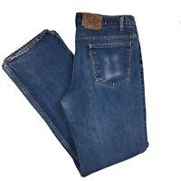 VTG Levi's Orange Tab 517 Denim Blue Jeans Boot Cut Made in USA W 38 L 36