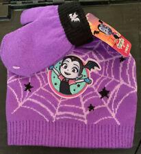 Toddler Girls Vampirina Knit Beanie & Mittens Set - BRAND NEW W TAGS