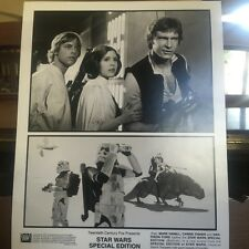 Press Photo Mark Hamill, Carrie Fisher, Harrison Ford-Star Wars Special Edition
