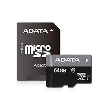 Adata Premier microSdxc card 64Gb Class10 Uhs-I Ausdx64Guicl10-Ra1