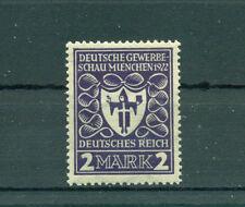 Postfrische Briefmarken aus dem Deutschen Reich (bis 1945) mit BPP-Signatur