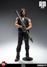 "McFarlane Toys Daryl Dixon The Walking Dead 10"" Figure Rocket Launcher Bloody"