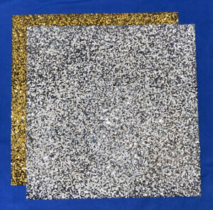 """Rhinestone Sparkles Silver Gold Square 14"""" Or Silver Heart Placemat U Pick New!"""