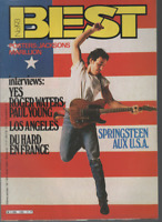 Magazine Best n° 193 +posters Michael Jackson Yes Roger Waters Bruce Springsteen