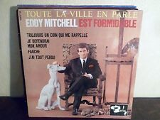 """EP 7"""" EDDY MITCHELL - Toujours un coin qui me rappelle + 3 - EX/EX - BLY 70687"""