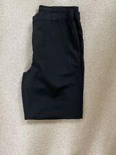 M&S Boys Black School Trousers Age 15-16 Years Slim Leg
