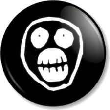"""The Mighty Boosh Face 1"""" 25mm Pin Button Badge Noel Fielding Comedy TV Show Geek"""