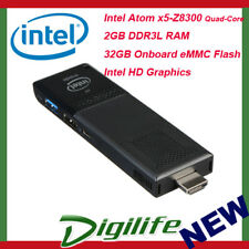 Intel Compute PC Stick Quad Core X5-Z8300 Windows10 2GB 32GB WIFI HDMI USB