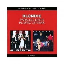 BLONDIE - CLASSIC ALBUMS - PARALLEL LINES/PLASTIC LETTERS 2 CD 25 TRACKS NEW+
