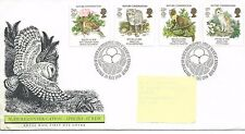 GB - FIRST DAY COVER - FDC - COMMEMS -1986- NATURE CONSERVATION -  Pmk PB