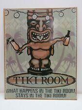 """Tiki Room"" Steel Metal Sign 12 x 18 inch - (B4C284)"
