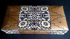 Emanuel Josef MARGOLD Biscuit Box Art Nouveau Wiener Werkstatte British Museum!