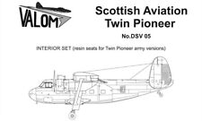 Valom 1/72 Scottish-Aviation Twin Pioneer (Army Versions) Resin Seats Interior S