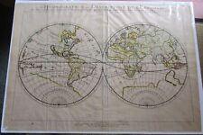 World map. 1652