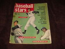 1950 Dell Baseball Stars Magazine Complete Ted Williams / J. Robinson Cover