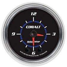 AutoMeter 6185 Cobalt Clock