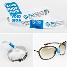 360 Id Tag Anti Returns Fraud Tag 164' Roll + 200 Void Seals Anti Wardrobing
