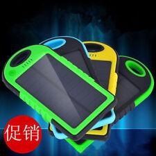 5000mAh Dual-USB Portable Solar Power Bank External Battery Cell Phone Charger