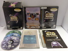 Computer Game Big Box PC CD-ROM ITALIANO - STAR WARS GALAXIES An Empire Divided