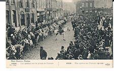 FRANCE POSTCARD ALGERIAN TUNISIAN  LIGHT CAVALRY FURNES SQUARE 1914 LES SPAHIS