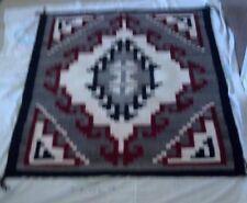 """Navajo Rug (50 3/4 """" x 38 1/4"""", Ganado Red, 100% wool weave)"""