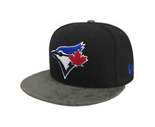 NEW ERA 9Fifty MLB Toronto Blue Jays Rustic Vize Black Gray Snapback Cap Men Hat