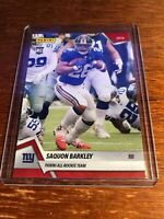 Saquon Barkley 2018 Panini Instant All-Rookie Team RC #2 - SP #'d /576 - GIANTS