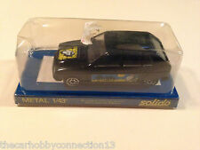 Rare Solido France Citroen Visa Black 1:43 Diecast Model Car Original Packaging