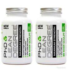 2 x 100 PhD Nutrition Lean Degree =  200Caps Fat Burner- fat Loss Slimming Pills