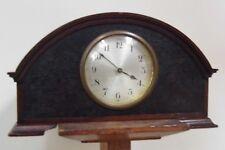 W Moriss Arts & Crafts London clock antique mystery timepiece mantel