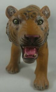 Tiger 13 inch  Model MISSI Rubber Plastic Toy Squishy Roaring Siberian Bengal