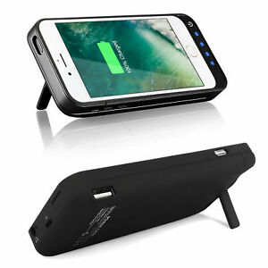Power Bank Battery Case for Apple iPhone 5 5C SE Backup Charger Case 4800mAh
