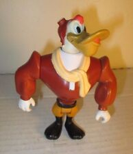 """1991 Disney Duck Tales Darkwing Duck 4"""" Launchpad Figure Playmates Toys"""