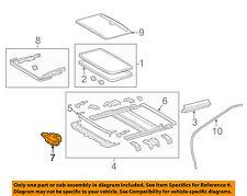 TOYOTA OEM 12-16 Camry Sunroof Moon Roof-Motor 6326006060
