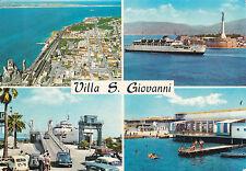 * VILLA SAN GIOVANNI - Panorami con navi 1967