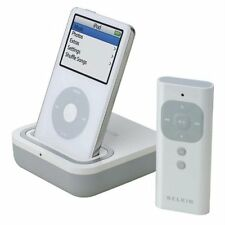 Belkin Audio Dock with RF Remote up to 120ft for iPod Video Classic Touch F8Z065