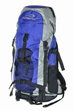 Airbac Wanderer Outdoor Camping Hiking Travel Bookbag Backpack -Blue WDR-BE NEW