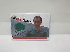 Big Bang Theory S3&4  Authentic Wardrobe Card Sheldon's Green Shirt M-19
