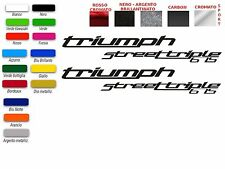 ADESIVI TRIUMPH STREET TRIPLE 675 (COPPIA)