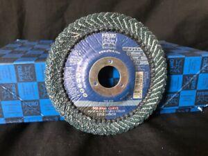 PFERD Polifan Curve Flap Disc 40 Grit 125mm Curved Flap Discs