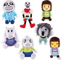 7PCS Undertale Plush Toy Stuffed Doll Sans Papyrus Temmie Toriel Asriel Gift NEW