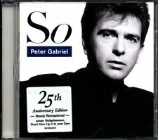 Peter Gabriel - So (Real World Records) Cd Perfetto