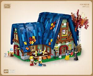 LOZ 1036 mini Blocks Kids Building Toys Teens Adult House Puzzle 2847pcs no box