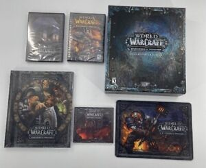 World of Warcraft: Warlords of Draenor Collector's Edition Some Sealed FREE SHIP