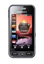 Téléphones mobiles noirs Samsung écran couleur