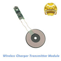 Qi Fast Wireless Charger PCBA Board Circuit Transmitter Module + Coil Charging